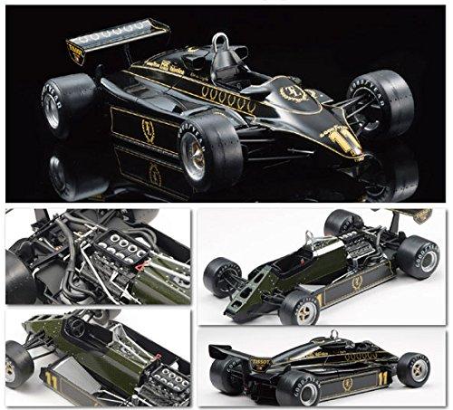 Ebbro 20012 Team Lotus Type 91 1982 1 20 Scale Plastic Model Car Kit