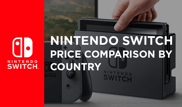Nintendo Switch Price by Country