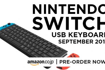 Nintendo Switch USB Keyboard - Feature