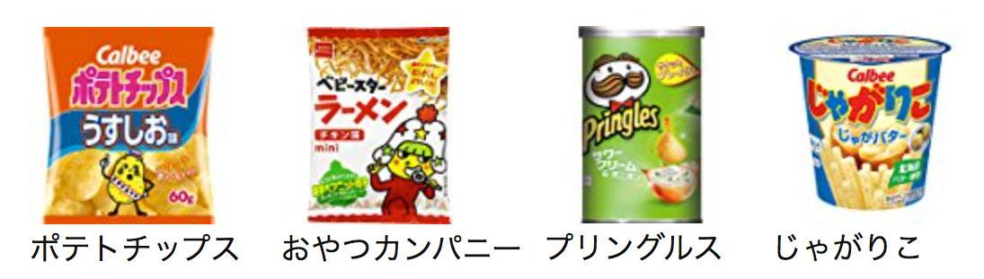 snacks category - amazon japan