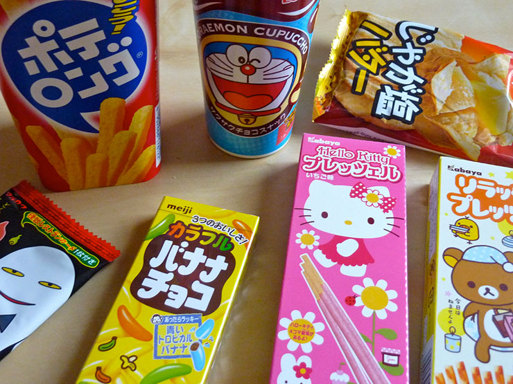 Where to Buy Japanese Snacks Online