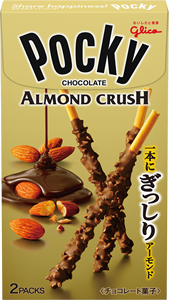 almond crush chocolate pocky