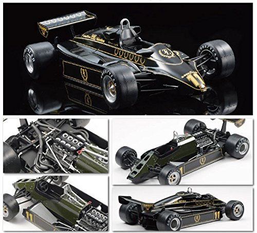 Ebbro 20012 Team Lotus Type 91 1982 1 20 Scale Plastic Model Car Kit