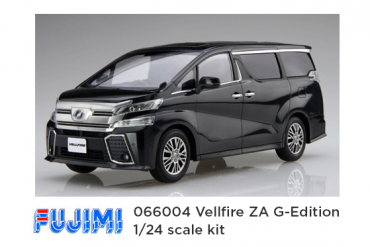 fujima 066004 vellfire plastic model - feature