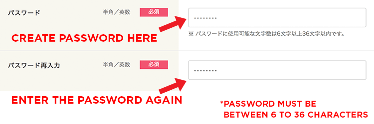 Step 02 Enter Password