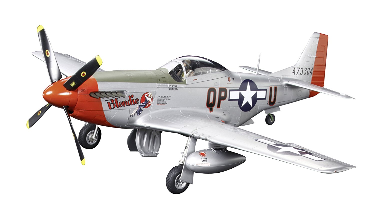 Tamiya 60322 North American P-51D Mustang 1/32 Scale Model Kit