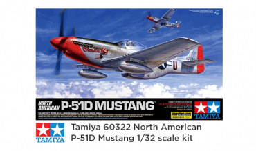 tamiya 60322 north american p-51d mustang - feature