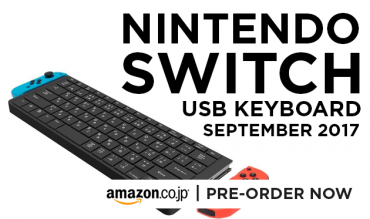 Nintendo Switch USB Keyboard - Feature