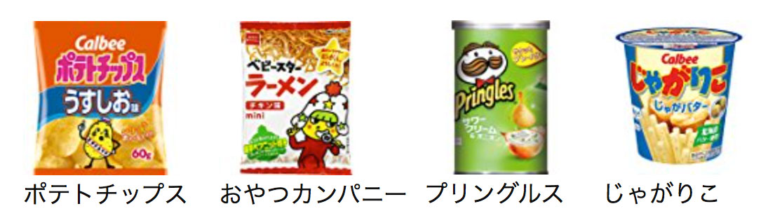 snacks category - amazon japan