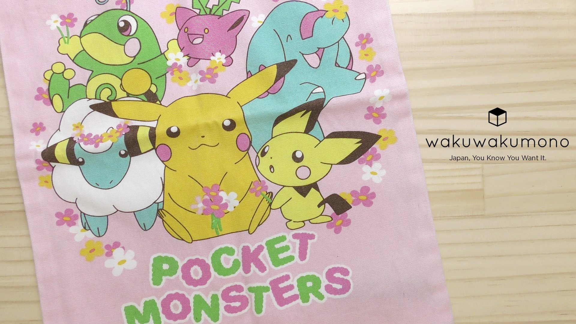 Pocket Monsters Bag (Mercari Japan)