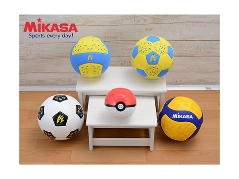 Pokemon Center-MIKASA Collaboration